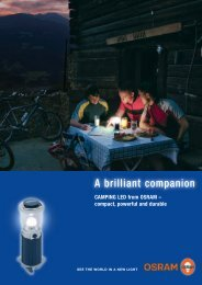 Camping lanterns and torches - Osram