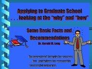 Applying to Graduate School - Villanova University