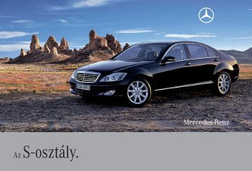 Az S - osztály. - Mercedes-Benz Magyarország
