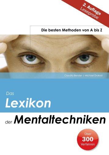 kostenlose Leseprobe .pdf - Draksal Fachverlag