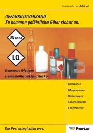 Gefahrgut Karwautz Final RZ.qxd - Österreichische Post AG