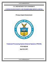 TPS-ES - United States Patent and Trademark Office