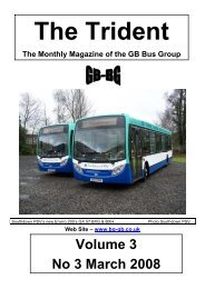 Volume 3 No 3 March 2008 - GB Bus Group