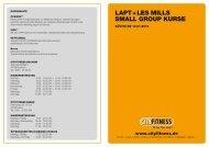 LAPT + LES MILLS SMALL GROUP KURSE - Cityfitness