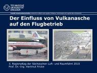 Der Einfluss von Vulkanasche auf den Flugbetrieb über Europa