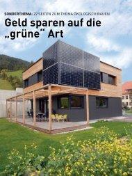 Ökologisch bauen - wia