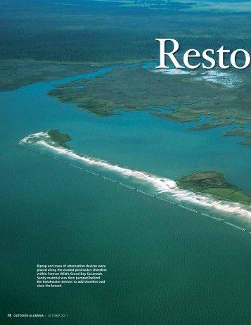 Restoring Little Bay - Alabama Department of Conservation and ...