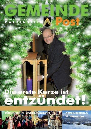 am 08. februar 2014 - Gemeinde Kapfenstein