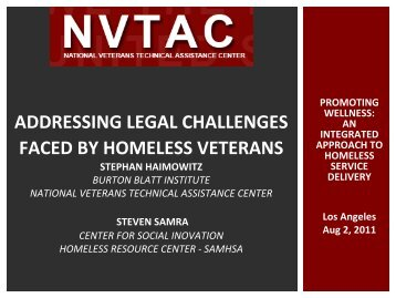 Presentation - Burton Blatt Institute at Syracuse University