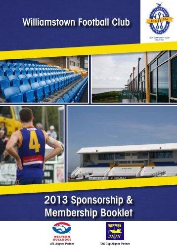 2013 Sponsorship & Membership Booklet - Western Bulldogs ...