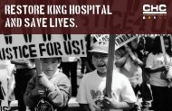Restore King Hospital and Save Lives.! - Community Health Councils