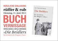 VERNISSAGE - rüffer & rub