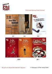 Ön Elemede Elenmiş Filmler Festivali 7. Uluslararası 2.El ... - Sadibey