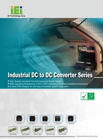 Industrial DC to DC Converter Series - Q Products