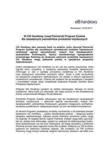 Wersja PDF (51 kB) - Citibank Handlowy