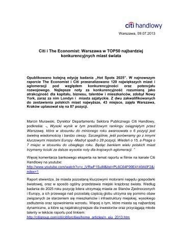 Wersja PDF (179 kB) - Citibank Handlowy