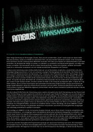 Soundiron Ambius 1 Transmissions 2.0 Handbuch - Reukauff.de