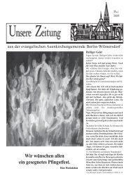 Wir wünschen allen ein gesegnetes Pfingstfest. - Auenkirche Berlin ...