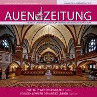 Februar/März 2013 - Auenkirche Berlin-Wilmersdorf