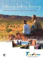 an aboriginal tourism strategy for western australia 2006 – 2010