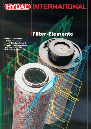 Hydac Filterelemente D und R.pdf - hywus.de
