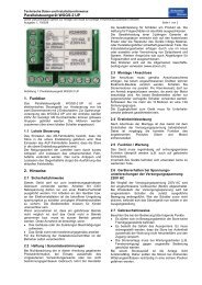 Handbuch WGGS-2 UP - Schenker Storen AG