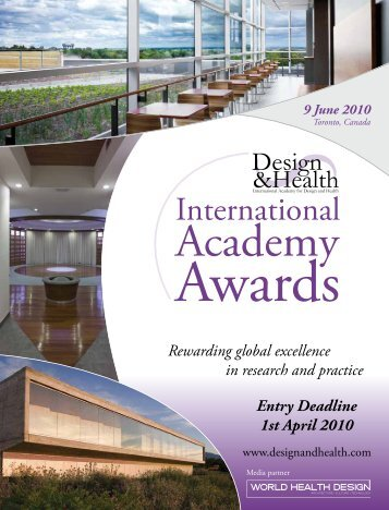 1 April 2010 - the International Academy of Design and Health