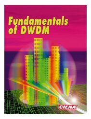 Ciena - Fundamentals of DWDM - High Speed Network Lab @ NCTU