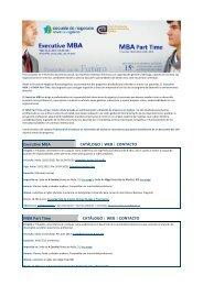 Executive MBA CATÁLOGO - Colexio Profesional de Enxeñaría en ...