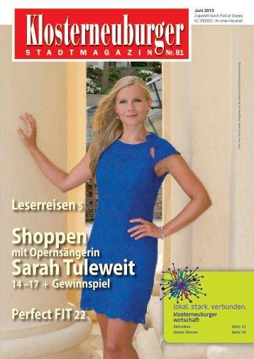 Shoppen Sarah Tuleweit - klowi.at
