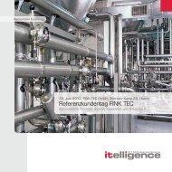 Referenzkundentag FINK TEC - Itelligence AG
