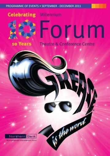 Forum September 2011 - Millennium Forum