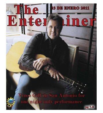 Vince Gill in San Antonio for one night only performance