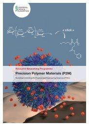 Precision Polymer Materials (P2M) - European Science Foundation