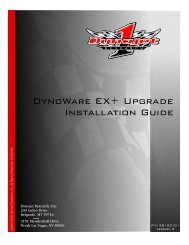 DynoWare EX+ Upgrade Installation Guide - Dynojet Research