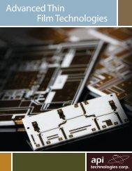 Thin Film Brochure - Spectrum Microwave