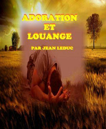 Adoration et Louange