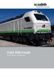 EURO 3000 FREIGHT.indd - Vossloh Latin America