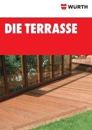 Terrassenbroschüre - Würth
