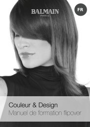 Color&design; manual 2006_FR.indd - Balmain Hair