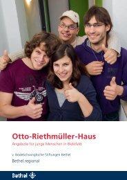 Otto-Riethmüller-Haus - Bethel regional