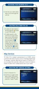 TV Caller ID User Instruction Guide - EATEL.com - Page 5
