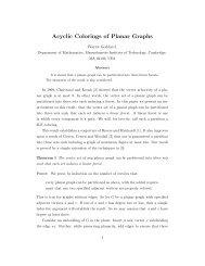 Acyclic Colorings of Planar Graphs - CiteSeerX