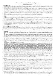 Allgemeine Verkaufs- und Lieferbedingungen - Hempel