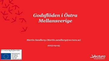 Godsflöden i östra Mellansverige - Regionförbundet Sörmland
