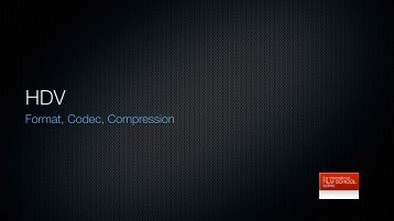 Format, Codec, Compression
