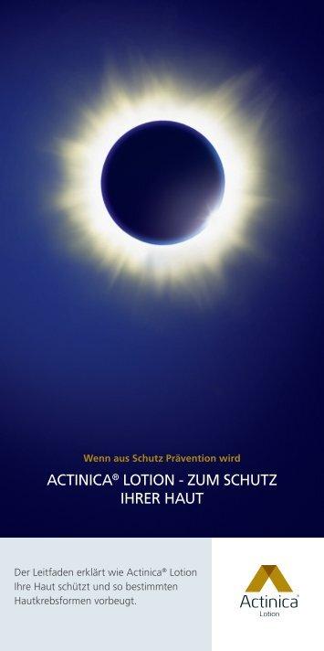 actinica® lotion - Spirig Pharma GmbH