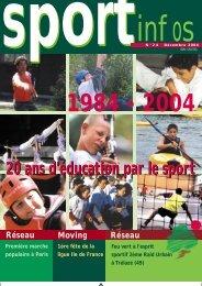 20 ans d'éducation par le sport - Union Nationale Sportive Léo ...