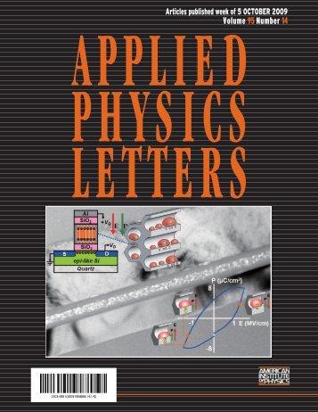 Volume 95 Number 14 - Los Alamos National Laboratory