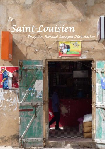 Senegal Newsletter - January 2012 - Projects Abroad